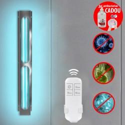 ProCart® UVC baktériumölő lámpa, 75W, ózon fertőtlenítés, sterilizáló felület 60 nm, távirányító, fém test, falra szerelés