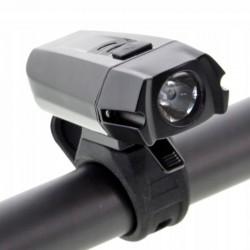 ProCart® Újratölthető USB kerékpár fényszóró USB 1050 mAh, 400 lm, IPX44, fogó