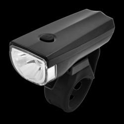 ProCart® LED kerékpár fényszóró, 1W, 3 megvilágítási mód, AA akkumulátor