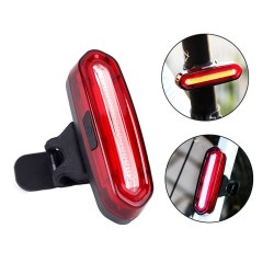 ProCart® LED Hátsó lámpa, újratölthető USB 600 mAh, 16 LED, 4 megvilágítási mód, IPX4