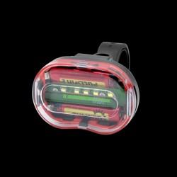 ProCart® LED kerékpárlámpa, 0,5 W-os, 3 megvilágítási mód, AAA elem