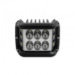 LVT SMD LED projektor, auto offroad, 36W, 10-60 V DC, 4300 lm, IP 67, függesztőrúd, alumínium