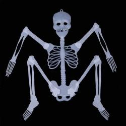 ProCart® Foszforeszkáló csontváz 150 cm magas, világos a sötétben, Halloween dekoráció