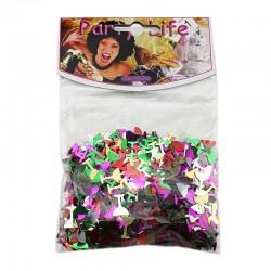 ProCart® Konfetti, pohár alakú, sokszínű, 26 gramm, party kiegészítők