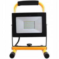 LVT reflektor, állvánnyal, LED SMD 50W, 120 fokos szög, 5500K, 3 m kábel, IP65 kültéri