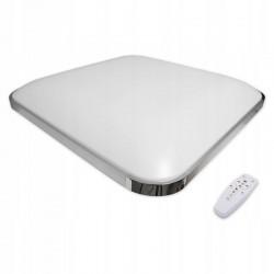 LVT SMD LED Mennyezeti lámpa, 36W, távirányító, állítható fényszín 3000K-6500K, 45x45 cm