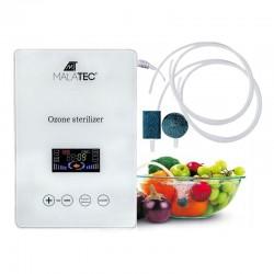 Malatec multifunkcionális ózongenerátor, élelmiszer-, víz- vagy légtisztító, érintőképernyő, fehér szín