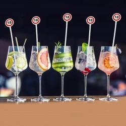ProCart® ital keverő pálcák, 18 éves koktéldísz, party kiegészítők
