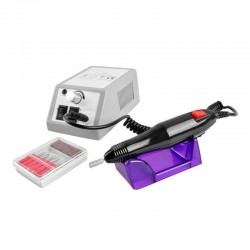 Beautylushh Professzionális elektromos körömreszelő, 6 bit, 20 000 ford / perc, csiszoló tartozékok, ergonomikus kialakítás