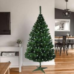 ProCart® Karácsonyi műfenyő, havas hegyekkel, magasság 180 cm, zöld