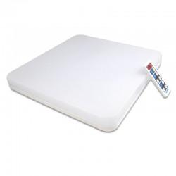 LVT LED mennyezeti lámpa, 18W SMD LED, mozgásérzékelő, távirányító, időzítő, semleges fény, IP54