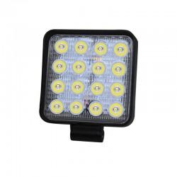 LVT SMD LED fényszóró, 48W, offroad, 12 / 24V, 4800 lumen, alumínium ház, IP67