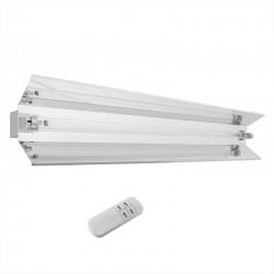 ProCart® állítható UVC baktériumölő lámpa reflektorral, 55W, IP20, falra szerelhető