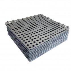 ProCart® Csúszásgátló szőnyeg fürdőszobához, puzzle típusú, 30x30 cm, vastagsága 2 mm, 10 darabos készlet