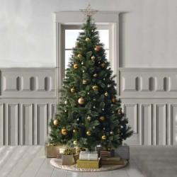 ProCart® Karácsonyi műfenyő, himalája fenyő kinézetű, magassága 200 cm, természetes zöld, tartóval