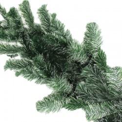 ProCart® girland, hossza 5,4 m, zöld-fehér ágak, hó megjelenés