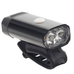 ProCart® LED kerékpár lámpa, 5W, újratölthető USB 1050 mAh, 8 megvilágítási mód, alumínium ház