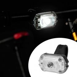 ProCart® LED kerékpár fényszóró, újratölthető USB 700 mAh, 65 lm, 3 megvilágítási mód, IPX4