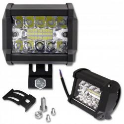 LVT EPISTAR LED reflektor, 60W, 10-30V DC, 60 fokos szög, IP67, alumínium ház, 4800lm