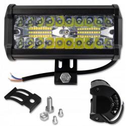LVT offroad LED projektor, 120W-os, 40 EPISTAR LED, 60 fokos szög, alumínium