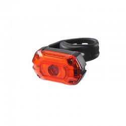 ProCart® LED Hátsó lámpa, újratölthető USB 700 mAh, 25 lm, 3 megvilágítási mód, IPX4