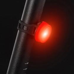ProCart® LED kerékpár hátsó lámpa, 15 lm, 2 megvilágítási mód, CR2032 elem