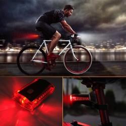ProCart® LED kerékpár hátsó lámpa, láthatóság 100 m, elem, 270 fokos szög, IPX4