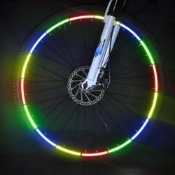 ProCart® Öntapadó fényvisszaverő szalag, kerékpárokhoz, 20,5x0,8 cm, biztonság és láthatóság