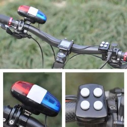 ProCart® Elektromos kerékpár csengő, 4 dal, 6 LED, vezérlő, kormányra szerelhető
