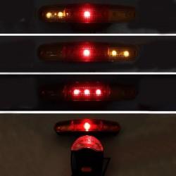 ProCart® LED kerékpár biztonsági lámpa készlet, 8 gyűrűs csengő, fék és jelzőfények