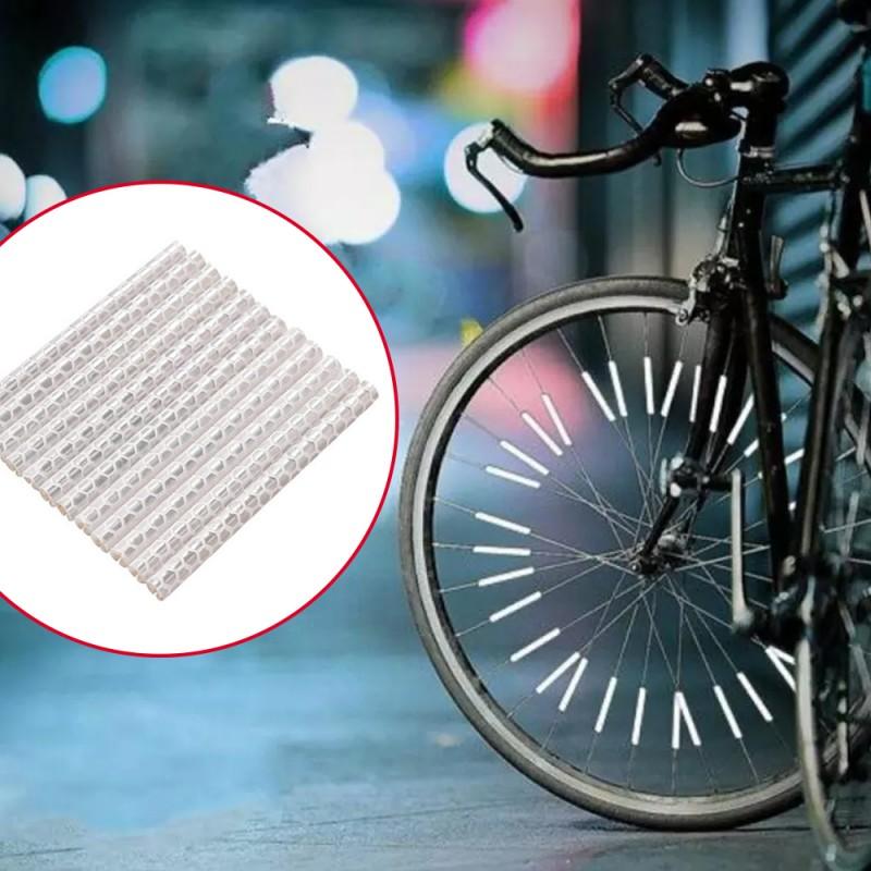 ProCart® kerékpár küllő fényvisszaverő díszek, 12 db, növelik a láthatóságot és a biztonságot