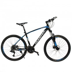 Phoenix MTB kerékpár, 26 hüvelykes kerekek, 27 S-RIDE sebesség, tárcsafékek, felfüggesztő villa