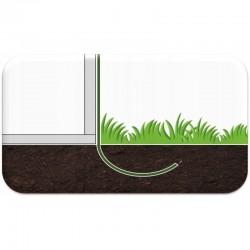 ProCart® Alagút típusú Melegház, 8x3x2m, ablakok rovarellenes hálóval, fémkerettel, UV4 szűrővel