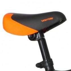 Visitor MotoCross kerékpár, 12 hüvelykes, levehető segédkerék, V-fék, narancssárga