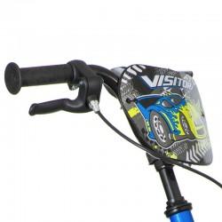 Visitor Turbo kerékpár, 16 hüvelykes, mechanikus V-Brake fék, levehető segédkerekek
