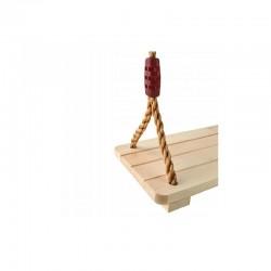 MT Malatec Gyermek hinta, fa ülés, kötelek fém gyűrűkkel