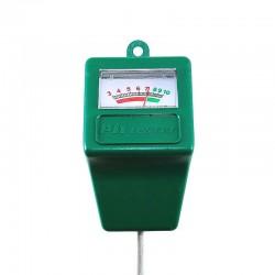 MT Malatec Talajvizsgáló, pH-jelzés, szonda, 27,5x5x3,5 cm, zöld