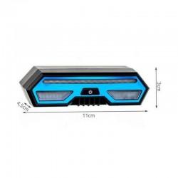 MT Malatec Kerékpár Hátsó lámpa, újratölthető mikro USB, távirányító, IPX4