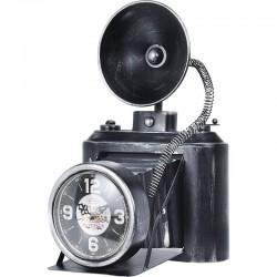 Asztali óra, kamera alakú,...