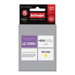 Cartus compatibil LC1240 LC1280 XL Yellow pentru Brother