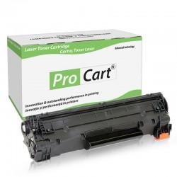 Cartus toner compatibil pentru HP CB436A