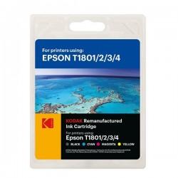 Cartus compatibil Epson T1801, T1802, T1803, T1804, multipack, Premium Kodak