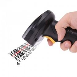 Cititor cod de bare 1D, Bluetooth, USB, 4500 coduri, 3 moduri de scanare
